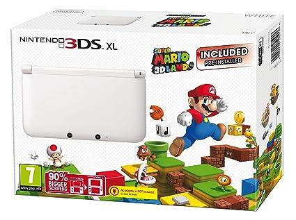 Nintendo 3Ds Xl - Consola Portátil, Color Blanco, Edición ...