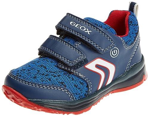 Geox B New Balu' B, Zapatillas para Bebés, Azul, 23 EU
