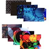Kurtzy RFID Blocking Sleeves - Credit Card Protector Pack Of 8 Contactless Card Protection - Theft Production, Wallet-guard, Safeguard, Anti-spying, Anti-tracking Safety Sleeve Set Men & Women
