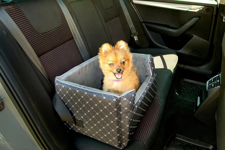 Autositz R/ückbank Vordersitz leicht zu reinigen und einbauen ECO Amibelle Hunde Sitz