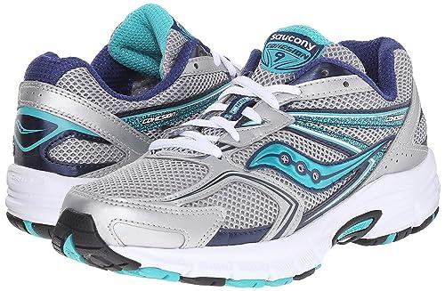 Zapatillas de Running para Mujer Saucony, Mod. Cohesion 9 W, Art.1526201, Silver Color, diseño de caña de Malla: Amazon.es: Zapatos y complementos