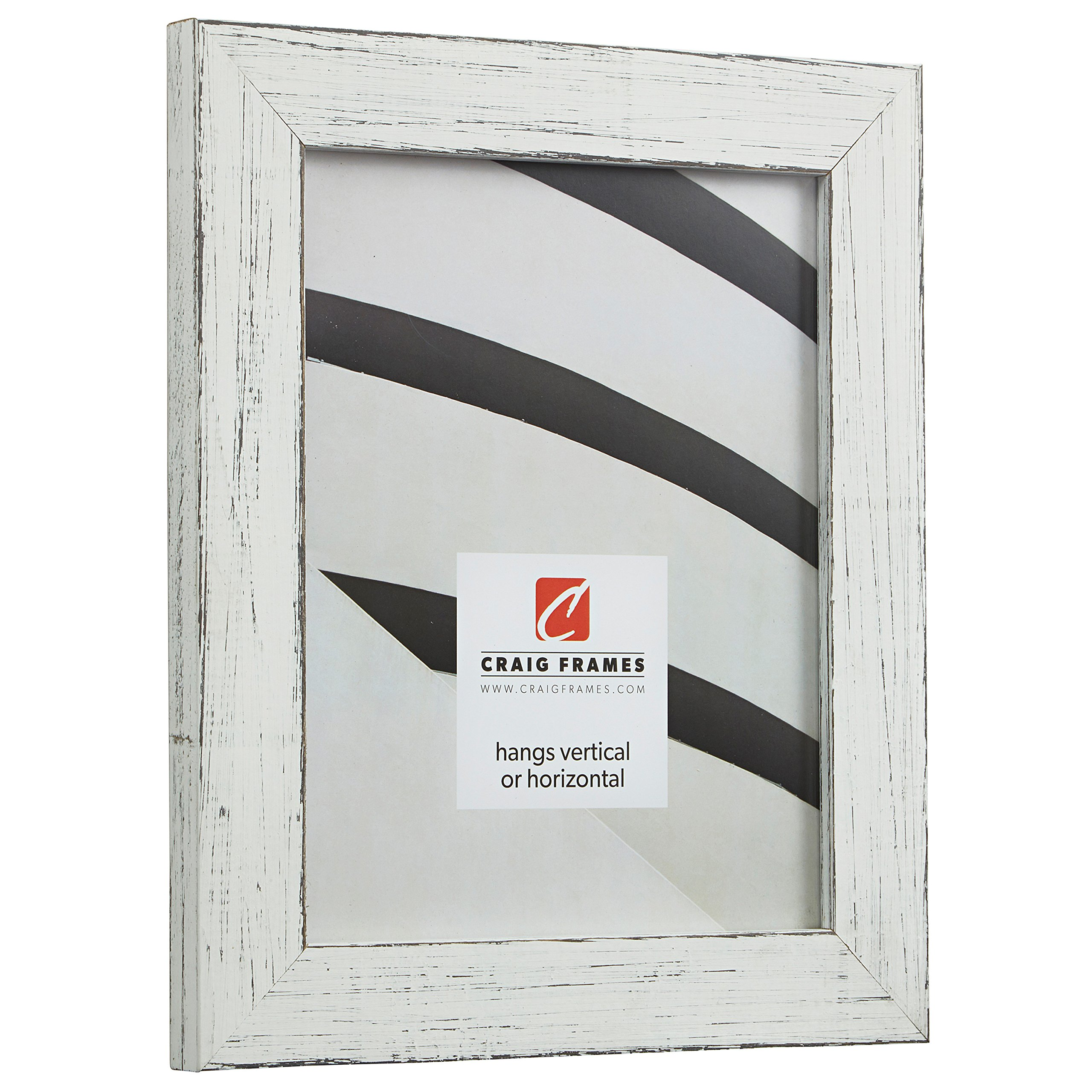 Craig Frames Jasper Picture Frame, 5 x 7 Inch, Country Marshmallow White by Craig Frames (Image #2)
