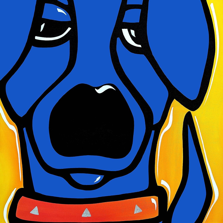 CONTEMPORARY POP ART Abstract MODERN print FIDOSTUDIO MY BEST FRIEND