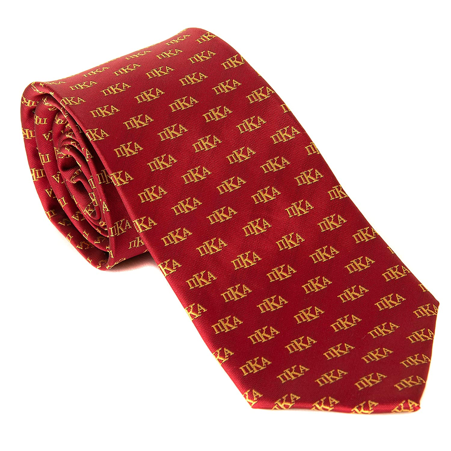 Pi Kappa Alpha Fraternity Necktie Tie Greek Formal Occasion Standard Length Width Hanky Pocket Square pike