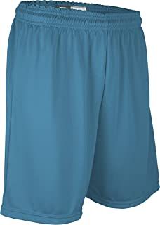 """product image for PT6477Y Youth Boy's and Girl's 7"""" Basketball High Performance Athletic Short (Large, Columbia)"""