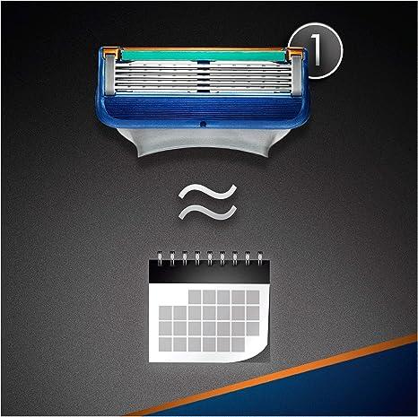 Gillette Fusion - Maquinilla de Afeitar con 11 Recambios: Amazon ...