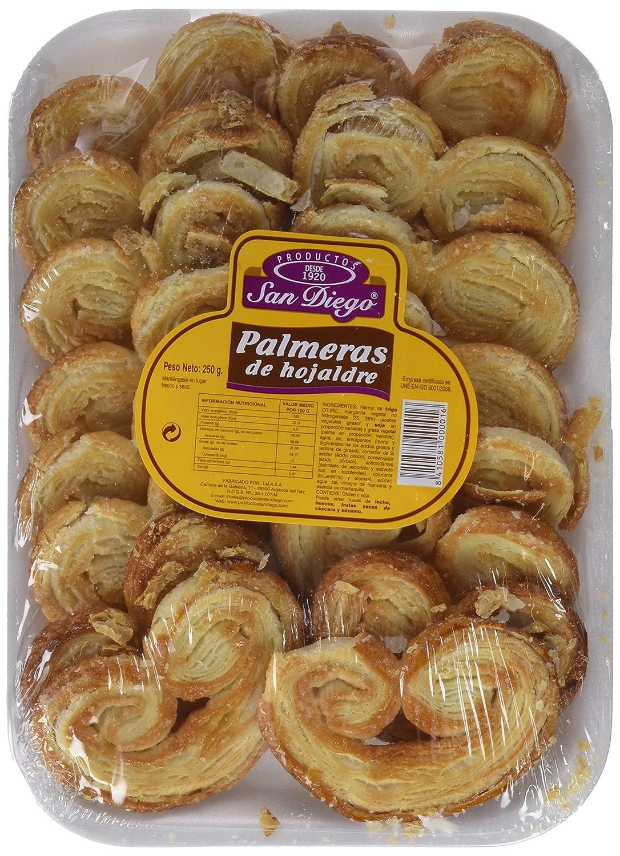 Productos San Diego Palmeras de Hojaldre - Paquete de 10 x ...