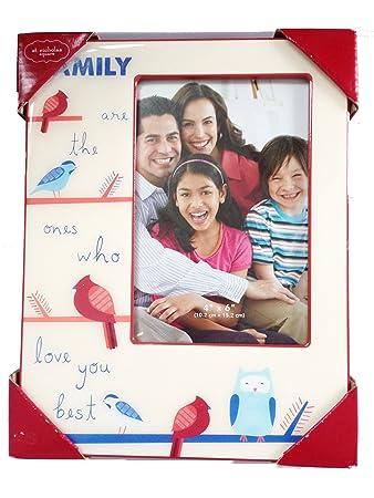 Amazoncom St Nicholas Square Family 4 X 6 Frame Single Frames