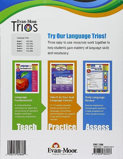 Language Fundamentals, Grade 3 (Language Fundamentals: Common Core ...