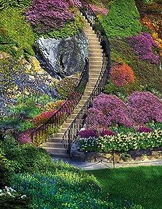 Springbok's 350 Piece Jigsaw Puzzle Garden Stairway