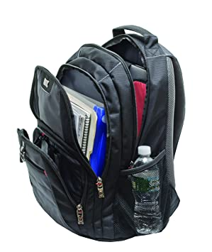 "Wenger 600633 PILLAR 16"" Laptop Backpack , Triple Protect ..."