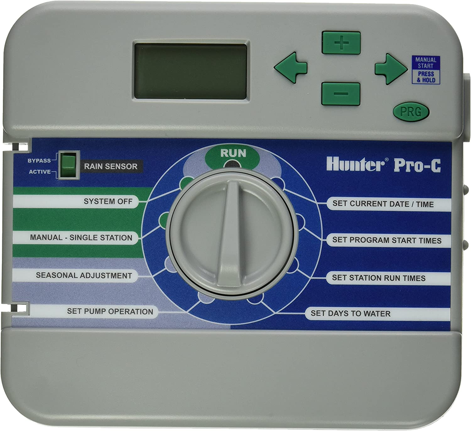 Hunter 526200 FRONT PANEL ONLY - Replacement Faceplate for Pro-C - PC300 / PCC ModelsREPAIR PART - NOT A CONTROLLER