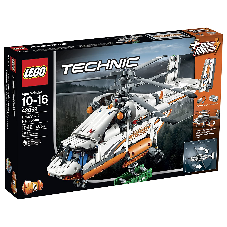 LEGO Technic Heavy Heavy Heavy Lift Helicopter 42052 Building Kit by LEGO bcd6cd