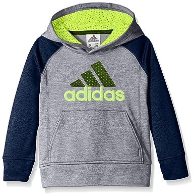 e561965d6 adidas Toddler Boys' Athletic Pullover Hoodie, Dark Indigo Heather, ...