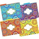 Barker Creek Fashion File Folders - Moroccan, Set of 12 (LL-1335)