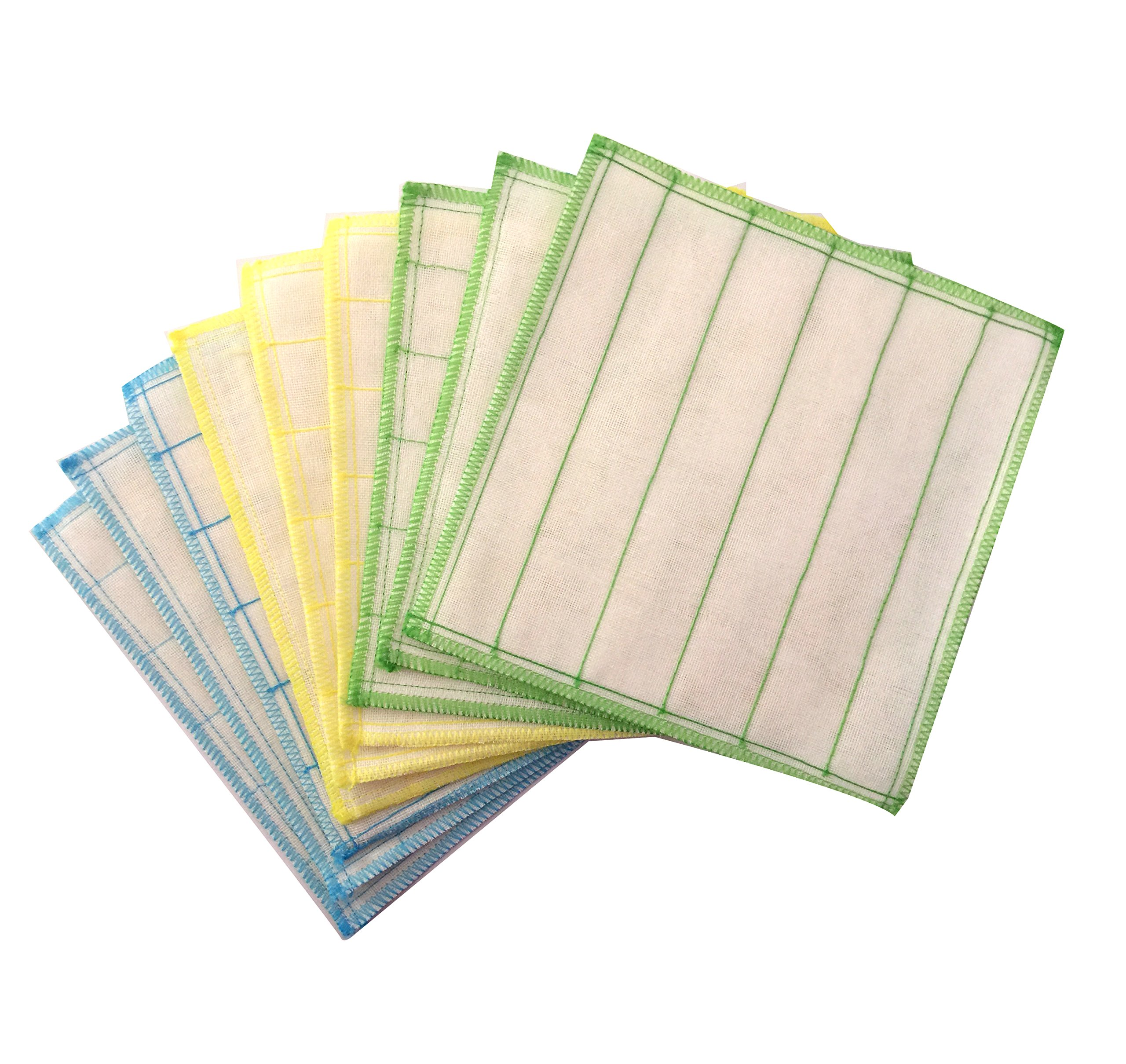 Silverstar 100% Wood Fiber Cleaning Cloth, Dish Cloth,Best Kitchen Cloths, 9-pack, 30cm X 30cm