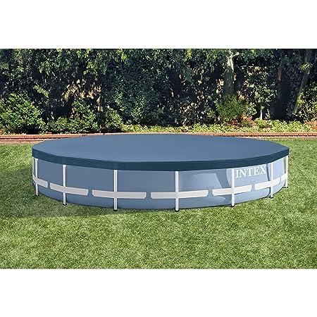 Amazon.com: Intex - Marco de metal redondo para piscina ...