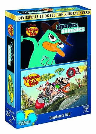 Pack: Phineas y Ferb: Agentes + Vago [DVD]: Amazon.es: Dibujos ...
