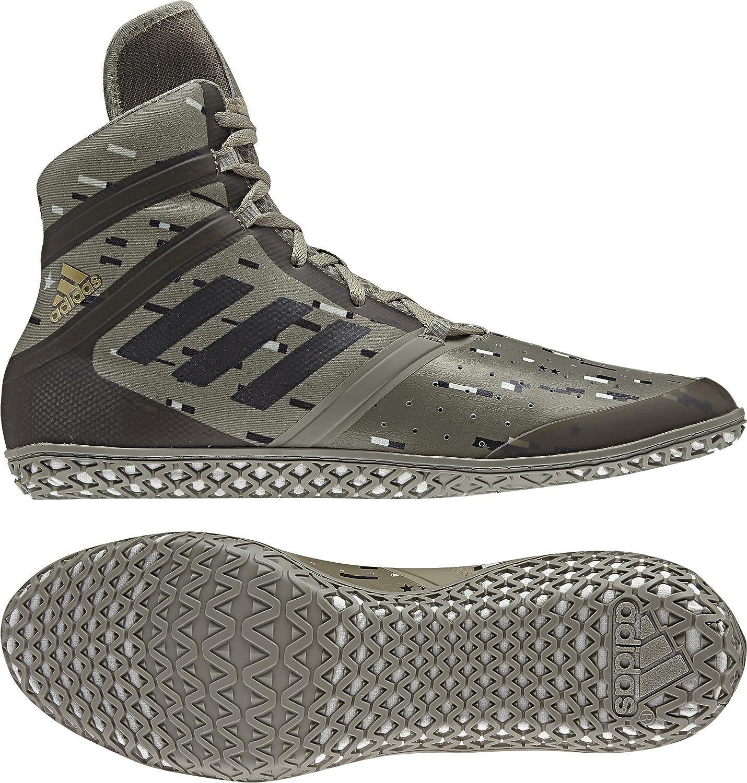 adidas Impact Wrestling Shoe - Mens B07BHZ17FK 5 D(M) US Trace Cargo/Black/Ash Silver