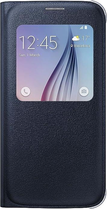 Samsung S-View funda para Samsung Galaxy S6: Amazon.es: Electrónica