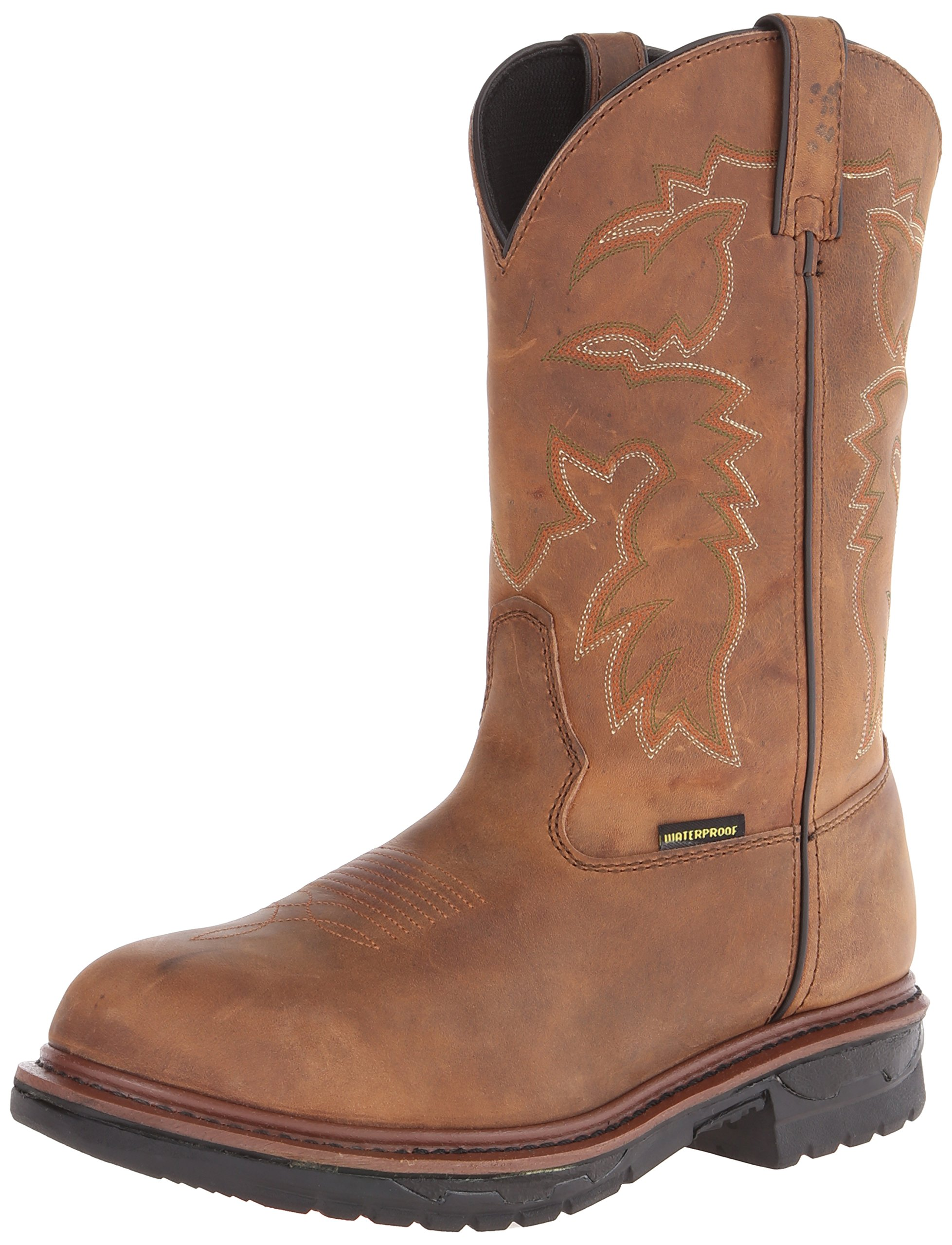 Dan Post Men's Anvil Work Boot,Saddle Tan,12 D US