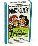 FRANCE CARTES - Jeu des 7 familles - Les Meilleures Aventures de Marc et Julie