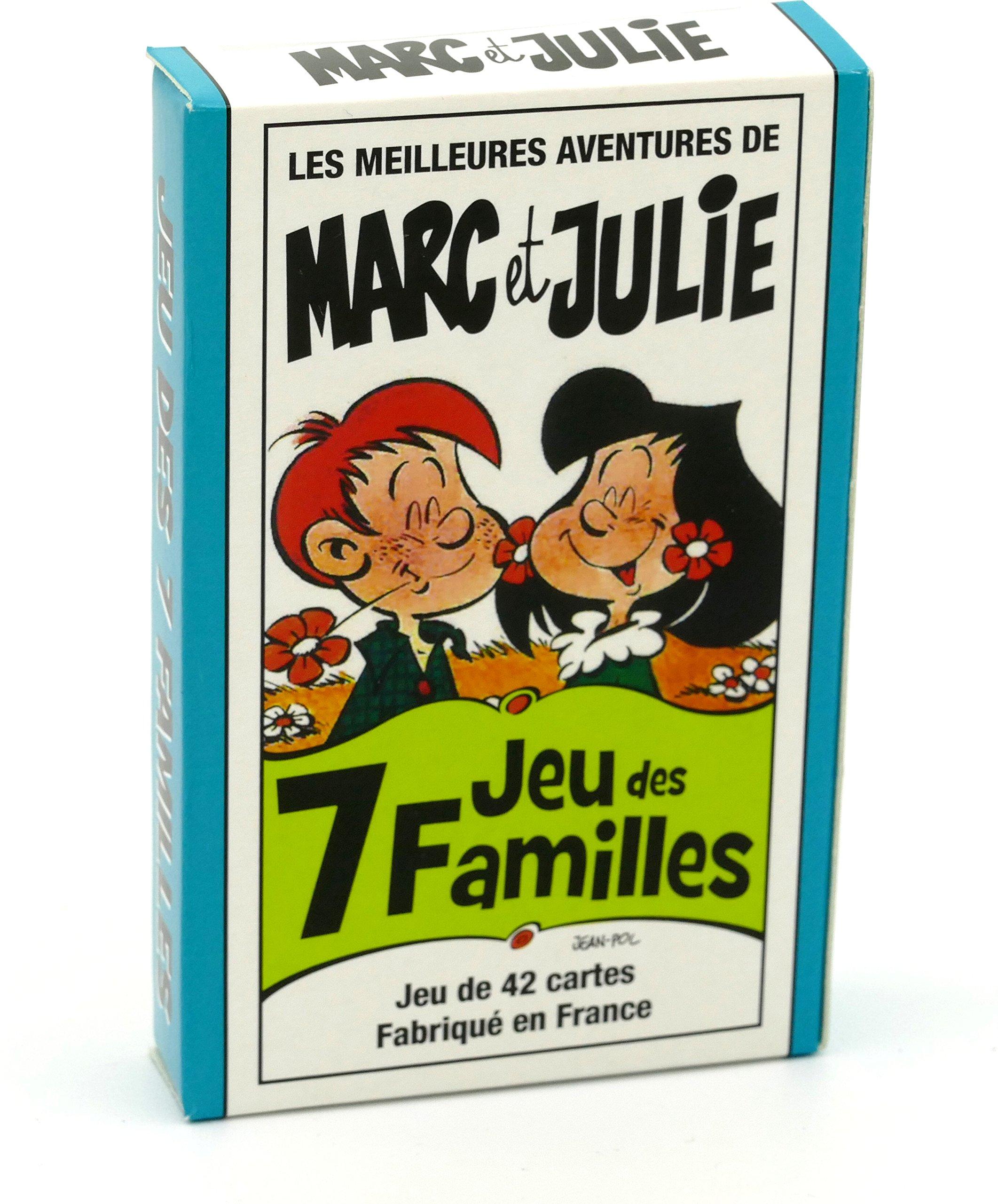 FRANCE CARTES - Jeu des 7 familles - Les Meilleures Aventures de Marc et Julie product image