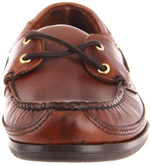Goélette, Les Hommes Chaussures De Bateau, Brun (brun Cireuse Huilé Lea), 10,5 (uk 45 Eu) Sebago
