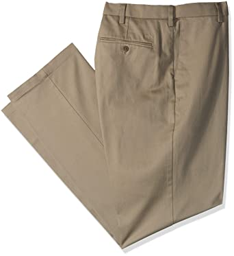 40555ba9af26a8 Amazon.com  Dockers Men s Big and Tall Big   Tall Classic Fit Signature  Khaki Lux Cotton Stretch Pants  Clothing