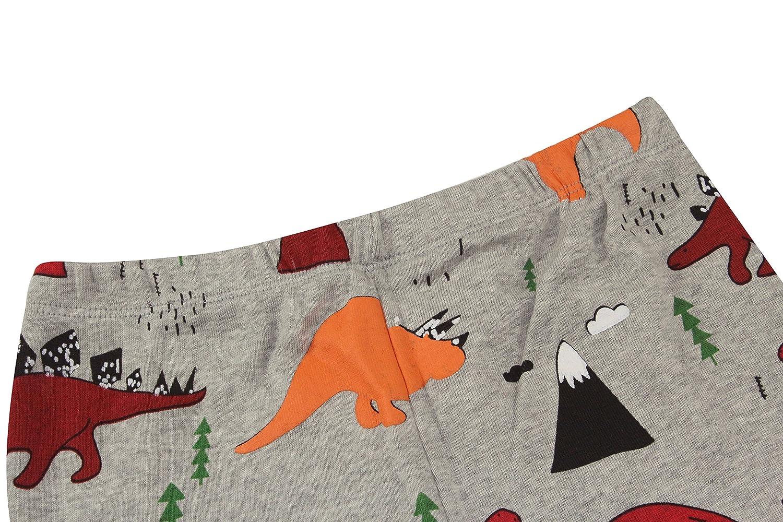 Slenily Kids Pajamas Boys Sleepwear Summer Short Pajamas Set Dinosaurs PJS