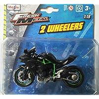 Maisto 1:18 Kawasaki Ninja H2R Die Cast Balance Bike