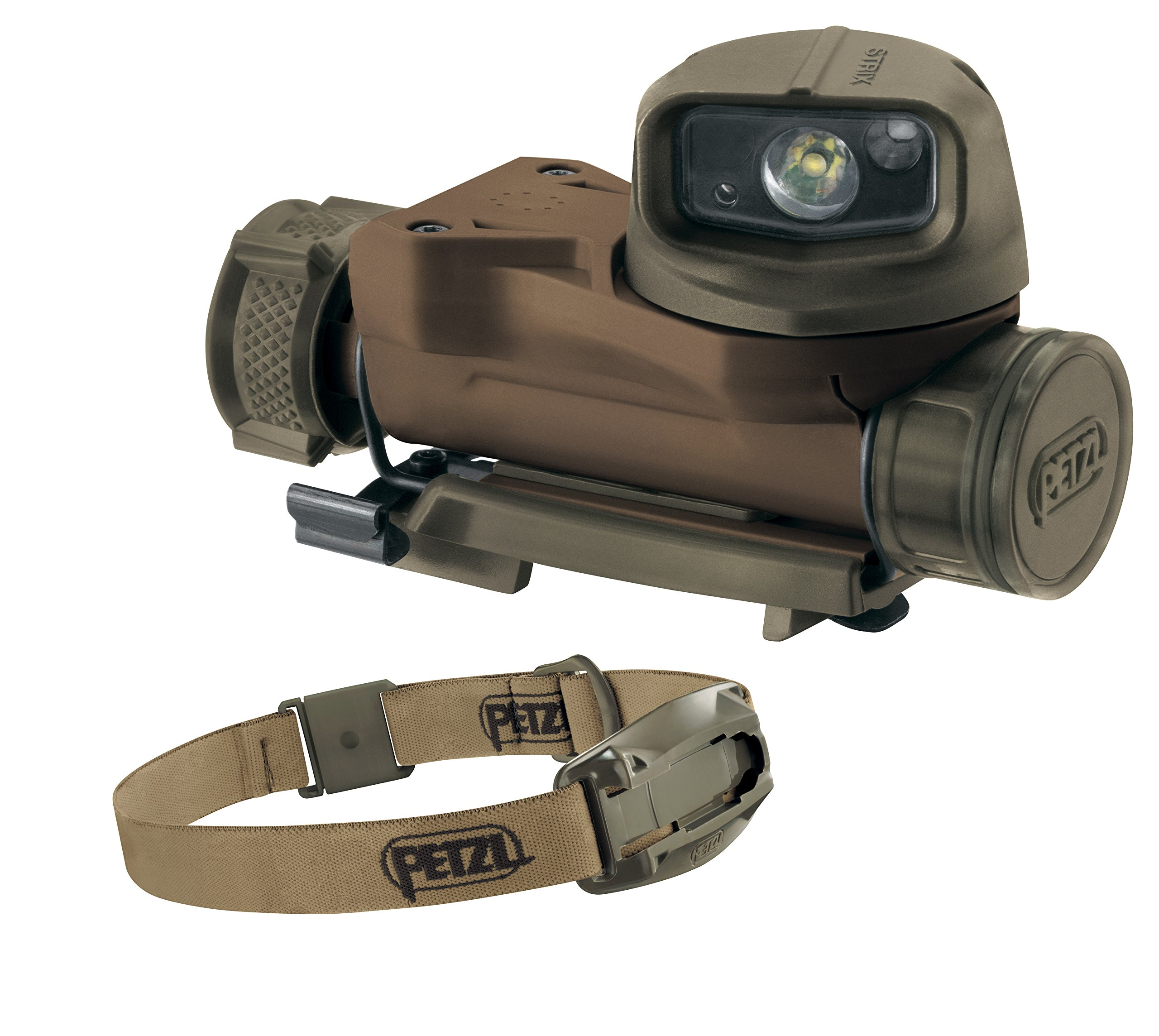 Petzl - Strix VL Headlamp with Headband, Desert