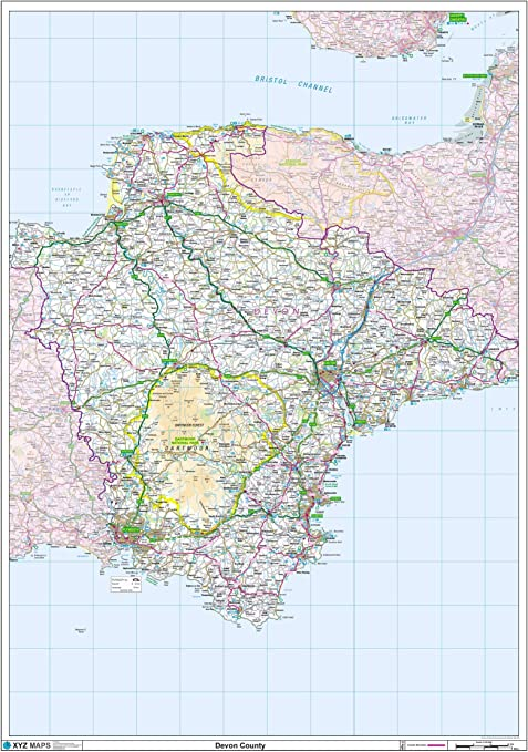 Atlas Map Bunting Handmade Fabric Office Study Gift