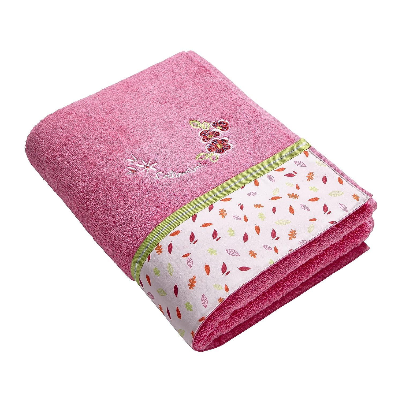 Catimini E301-0530-3787201 KA-sogno asciugamano autunno, 70 x 130 centimetri, di colore rosa E301-0530-3787201-KA
