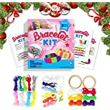 Premium Jewelry / Bracelet Making Kit for Smarter, Happier Children. Kids Crafts for girls 7+. Easy Craft Kits with 11 Bracelets.