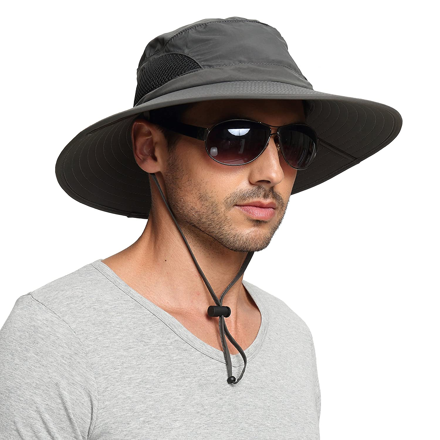289931c3390 Amazon.com   EINSKEY Men s Waterproof Sun Hat