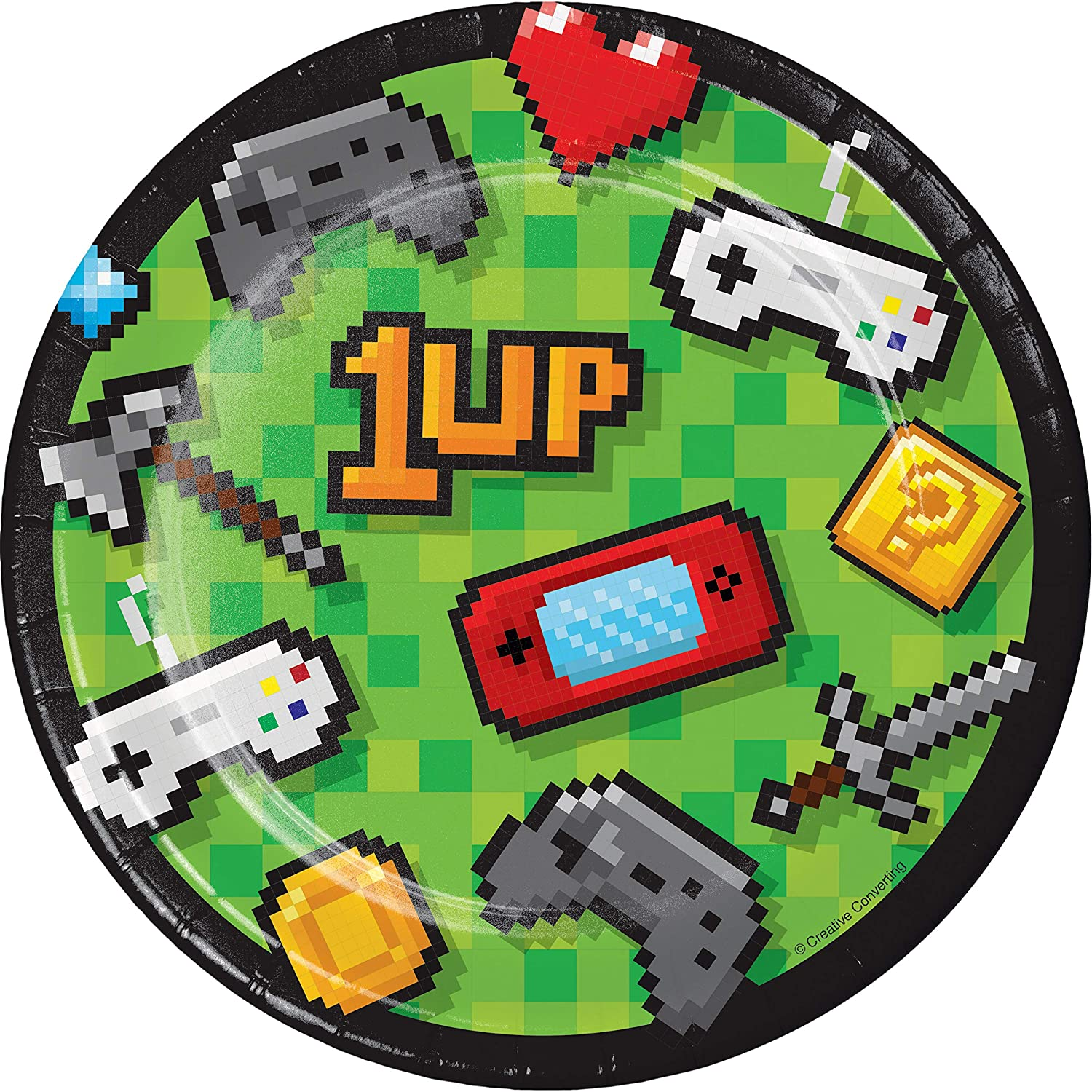 24 ct Video Game Party Dessert Plates