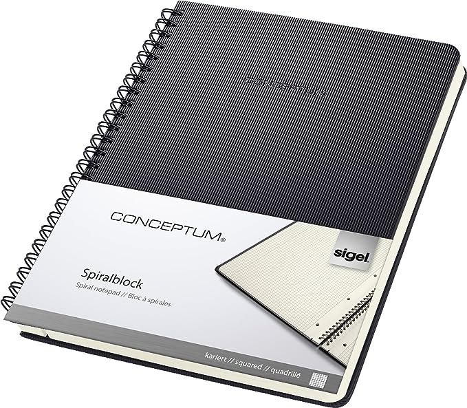 1 opinioni per Sigel CO822 Blocco spiralato CONCEPTUM , copertina rigida, 160 pagine a