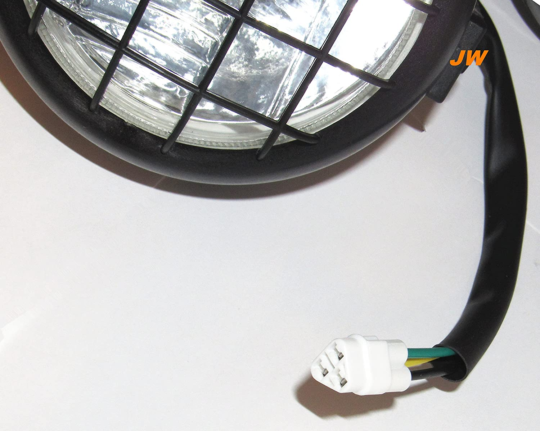 Yamaha ATV NEW Headlights head lights assembly 2002-2006 BANSHEE 350 YFZ350 2002-2004 Warrior 350 2000-05 Wolverine 350 YFM