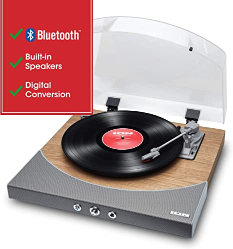 ION Audio Premier LP - Tocadiscos de vinilo Bluetooth, de 3 ...