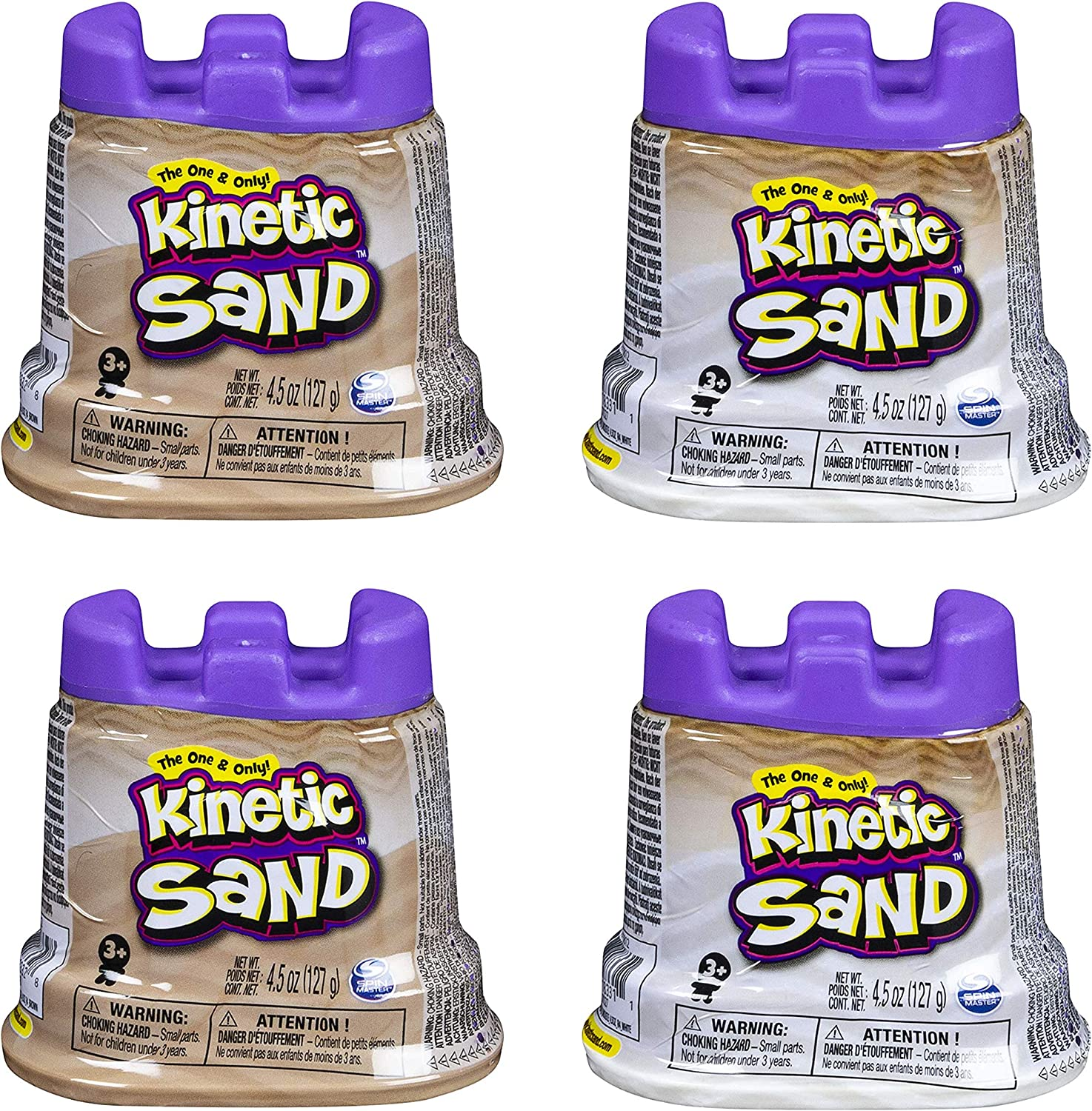 Kinetic Sand | Gift Set (Natural and White)