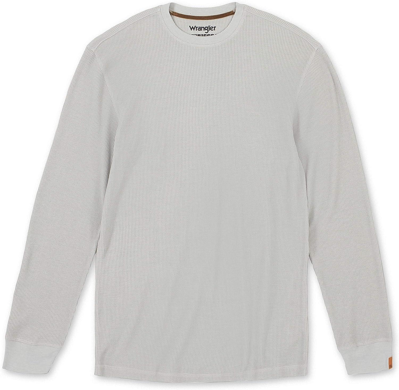 Wrangler Riggs Workwear Men's Long Sleeve Thermal Shirt: Clothing