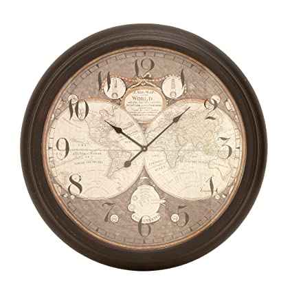 Buy Deco 79 52521 Metal Wall Clock, 37\