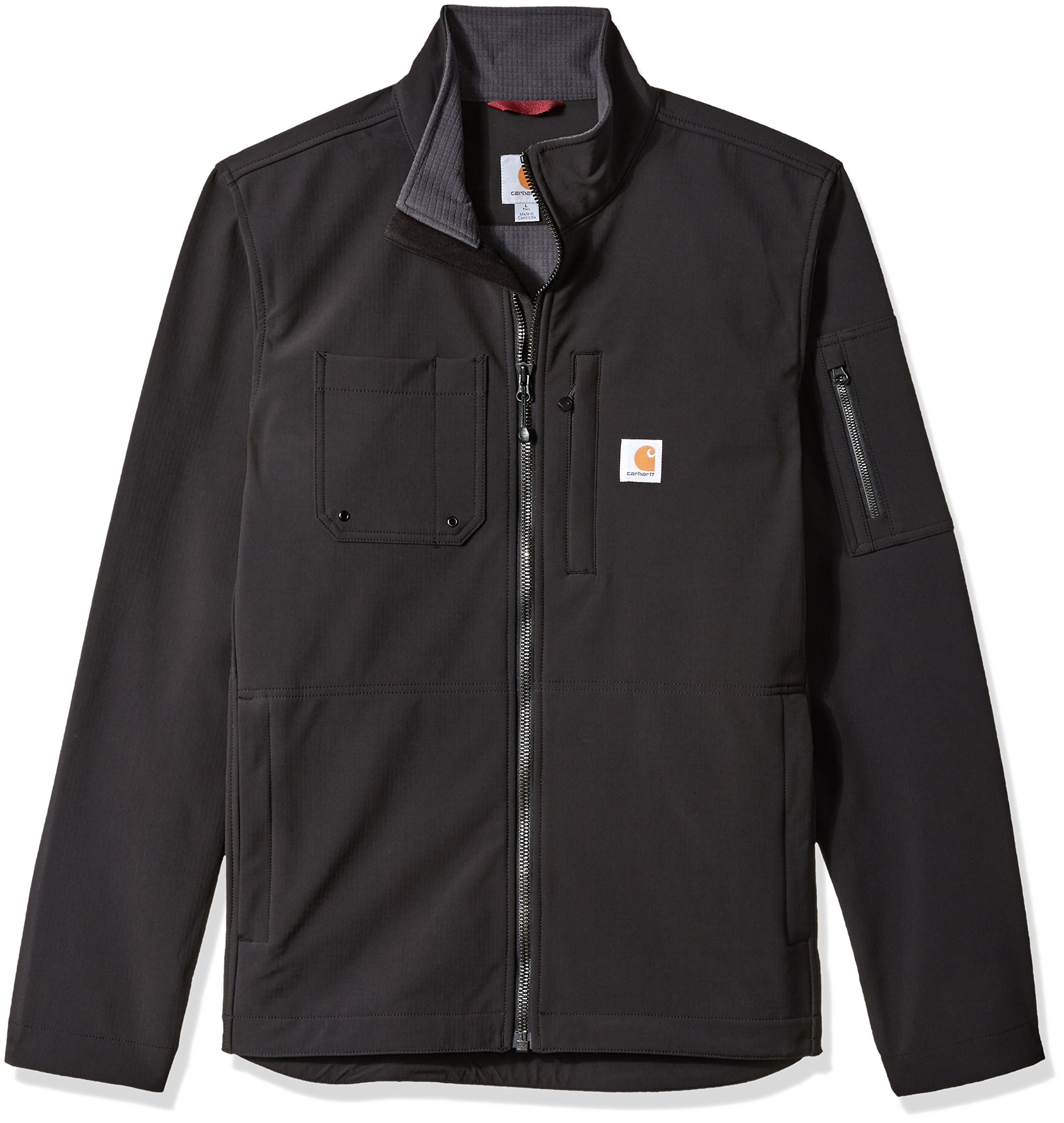 Carhartt Men's Big and Tall Rough Cut Jacket, Black, 3X-Large by Carhartt