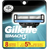 Gillette Mach3 Men's Razor Blades - 8 Refills (Packaging May Vary)