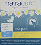 Natracare Pads Ultra Super Wings, 12 ct