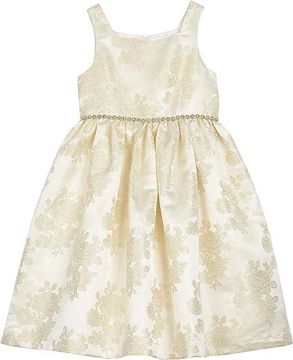 فستان حفلات مطرز بدون أكمام للفتيات الصغيرات من Laura Ashley London