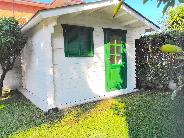 Dekalux - Caseta de madera para jardín 3 x 2: Amazon.es: Jardín