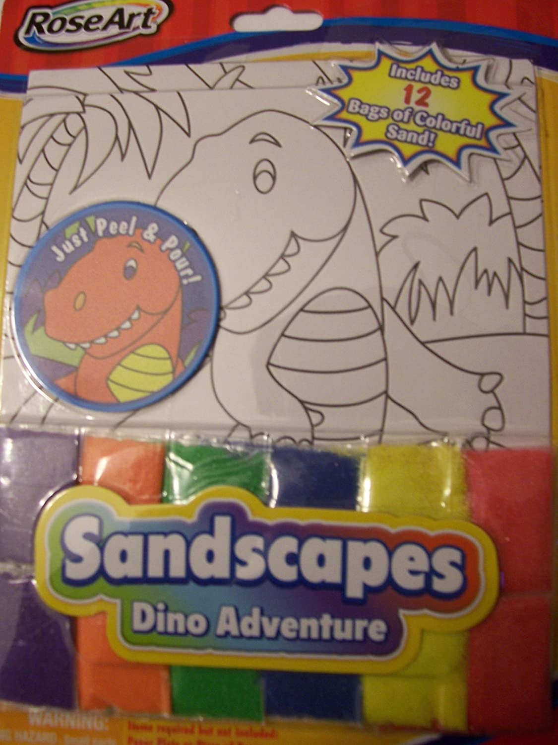 pinkArt Sandscapes  Dino Adventure