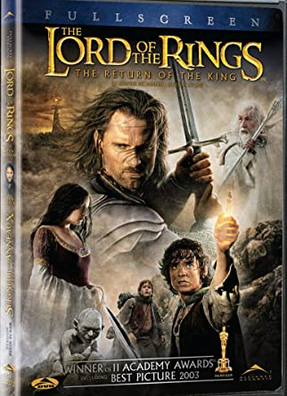 amazon com the lord of the rings the return of the king full